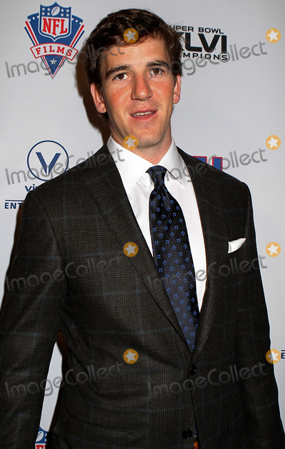 Eli Manning Photo - Eli Manning of the New York Giants at the Super Bowl XLVI Champions: New York Giants 'Blue Carpet' VIP premiere at the Regal E-Walk Stadium 13 on March 5, 2012 in New York City.