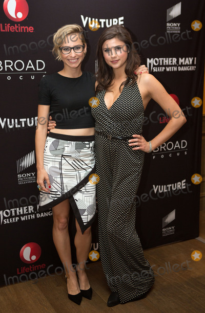 Amber Coney Photo -   June 7 2016, New York City  Director Melanie Aitkenhead and actress Amber Coney arriving at the New York screening of  'Mother, May I Sleep With Danger?' at the Crosby Street Theater on June 7, 2016 in New York City.  By Line: Serena Xu/ACE Pictures   ACE Pictures, Inc. tel: 646 769 0430
