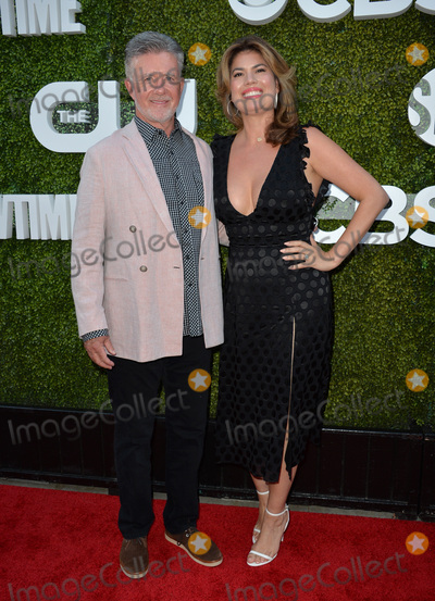 Alan Thicke, Tanya Callau Photo - LOS ANGELES, CA. August 10, 2016: Alan Thicke & wife Tanya Callau at the CBS & Showtime Annual Summer TCA Party with the Stars at the Pacific Design Centre, West Hollywood. Picture: Paul Smith / Featureflash