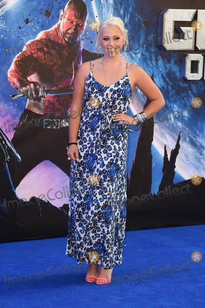"""Amelia Lilly, Leicester Square Photo - Amelia Lilly arrives for the """"Guardians of the Galaxy"""" premiere at the Empire Leicester Square, London. 24/07/2014 Picture by: Steve Vas / Featureflash"""