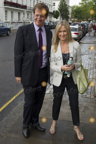Alistair Campbell, David Frost Photo - Alistair Campbell and wife arriving for David Frost's Annual Garden Party held at the Royal Chelsea Hospital in London. 10/07/2012 Picture by: Simon Burchell / Featureflash