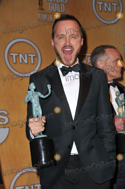 Aaron Paul Photo - Aaron Paul at the 20th Annual Screen Actors Guild Awards at the Shrine Auditorium.January 18, 2014  Los Angeles, CAPicture: Paul Smith / Featureflash