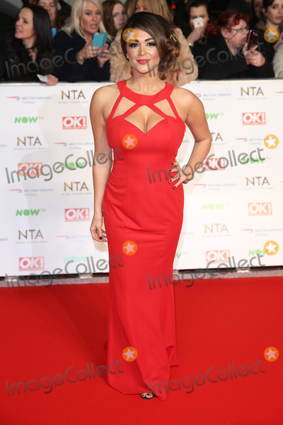 Casey Batchelor, James Smith Photo - Casey Batchelor at The National Television Awards 2016 (NTA's) held at the O2 Arena, London. 