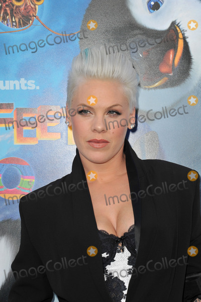 "Pink, Alecia Moore, Grauman's Chinese Theatre Photo - Alecia Moore (Pink) at the world premiere of her new movie ""Happy Feet Two"" at Grauman's Chinese Theatre, Hollywood.