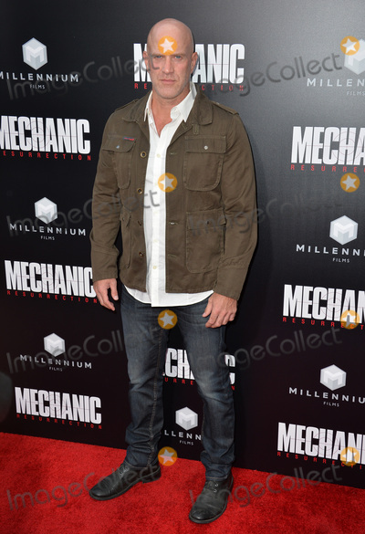 """Bruno Gunn Photo - LOS ANGELES, CA. August 22, 2016: Actor Bruno Gunn at the Los Angeles premiere of """"Mechanic: Resurrection"""" at the Arclight Theatre, Hollywood.Picture: Paul Smith / Featureflash"""