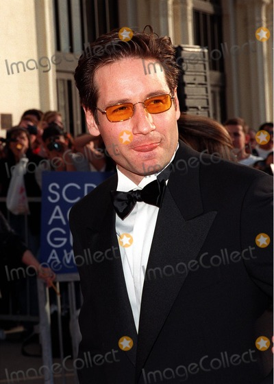 "David Duchovny Photo - 08MAR98:  ""X-Files"" star DAVID DUCHOVNY at the Screen Actors Guild 