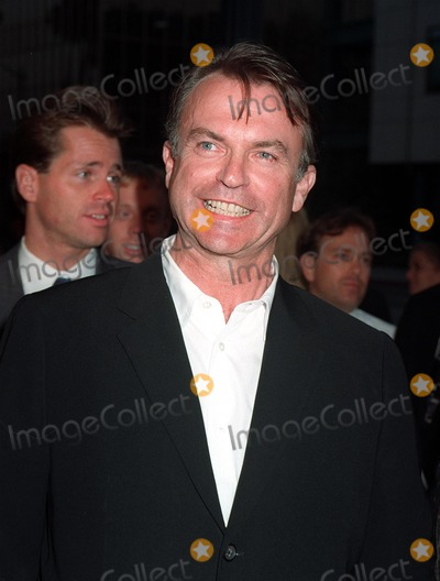 "Sam Neill Photo - 12AUG97:  Actor SAM NEILL at the premiere of his new movie, ""Event Horizon,"" in Beverly Hills."
