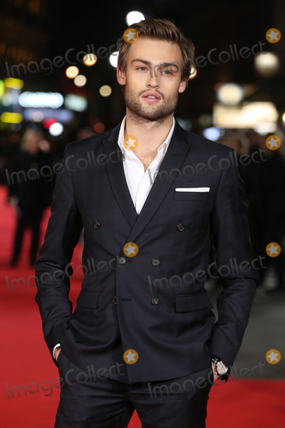 """Douglas Booth, Douglas Boothe, James Smith, Leicester Square Photo - Douglas Booth at the European premiere for """"Pride and Prejudice and Zombies"""" at the Vue West End, Leicester Square.February 1, 2016  London, UKPicture: James Smith / Featureflash"""