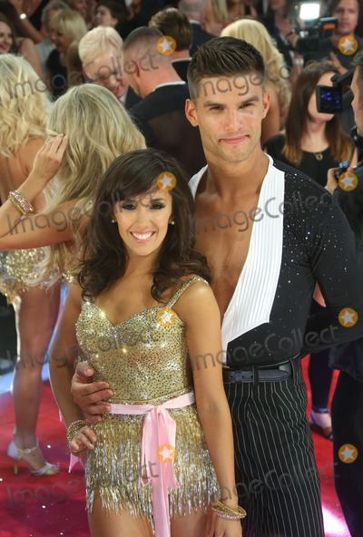 Janette Manrara, Aljaz Skorjanec Photo - Janette Manrara, Aljaz Skorjanec arriving for Strictly Come Dancing red carpet launch event held at Elstree studios, London. 03/09/2013 Picture by: Henry Harris / Featureflash