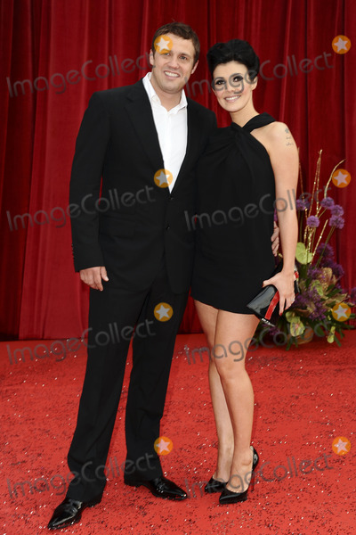 Kym Marsh, Jamie Lomas Photo - Jamie Lomas and Kym Marsh arrives at the British Soap awards 2011 held at the Granada Studios, Manchester.
