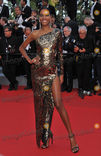 """Arlenis Sosa, Day One Photo - Domenican model Arlenis Sosa at the gala premiere of """"Two Days, One Night"""" at the 67th Festival de Cannes.May 20, 2014  Cannes, FrancePicture: Paul Smith / Featureflash"""
