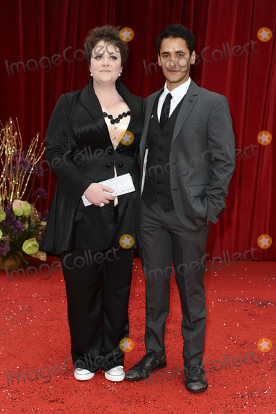 Lu Corfield Photo - Lu Corfield arrives at the British Soap awards 2011 held at the Granada Studios, Manchester.