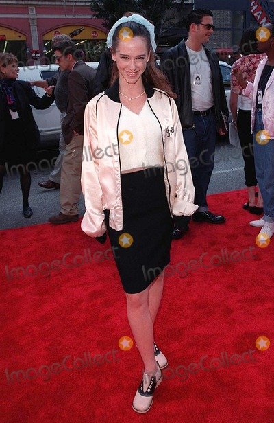 """Jennifer Love Hewitt, Jennifer Love-Hewitt Photo - 15MAR98:  Actress JENNIFER LOVE HEWITT at 20th anniversary re-premiere of """"Grease"""" at Mann's Chinese Theatre, Hollywood."""