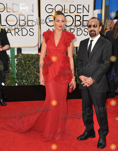 Berenice Bejo, Asghar Farhadi Photo - Berenice Bejo & Asghar Farhadi at the 71st Annual Golden Globe Awards at the Beverly Hilton Hotel.