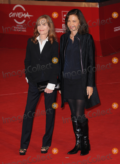 """Anne Fontaine, Isabelle Huppert Photo - Isabelle Huppert and Anne Fontaine attends the premiere of """"Mon pire cauchemar"""" during the 6th International Rome Film Festival.October 30, 2011, Rome, ItalyPicture: Catchlight Media / Featureflash"""