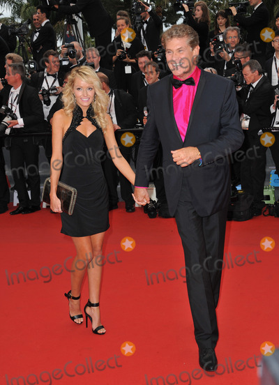 """David Hasselhoff, Hayley Roberts Photo - David Hasselhoff & Hayley Roberts at the gala premiere of """"Young & Beautiful"""" (""""Jeune & Jolie"""") in competition at the 66th Festival de Cannes.May 16, 2013  Cannes, FrancePicture: Paul Smith / Featureflash"""