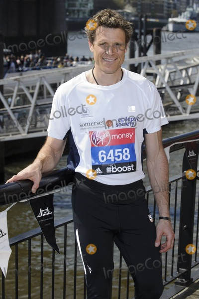 James Cracknell Photo - James Cracknell at the photocall for celebs running the 2014 London Marathon, London. 09/04/2014 Picture by: Steve Vas / Featureflash