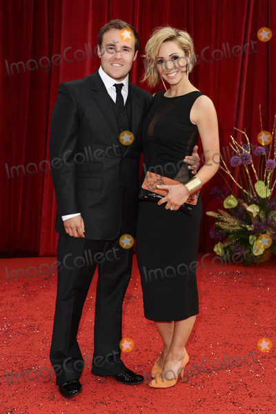 Lucy Jo Hudson, Alan Halsall Photo - Alan Halsall and Lucy Jo Hudson  arrive at the British Soap awards 2011 held at the Granada Studios, Manchester.14/05/2011  Picture by Steve Vas/Featureflash
