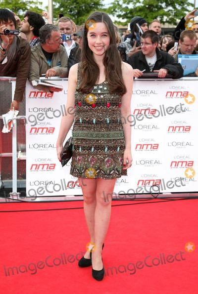Anna Popplewell, The National, Anna Maria Perez de Taglé Photo - Anna Popplewell arriving for the National Movie Awards 2011, at Wembley Arena, London. 11/05/2011  Picture By: Alexandra Glen / Featureflash
