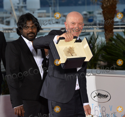 Jaques Audiard Photo - Jaques Audiard - winner of the Palme D'Or for Dheepan - at the winners' photocall at the 68th Festival de Cannes.May 24, 2015  Cannes, FrancePicture: Paul Smith / Featureflash