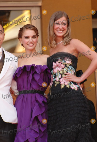 "Alexandra Maria Lara, Natalie Portman, Anna Maria Perez de Taglé Photo - Natalie Portman & Alexandra Maria Lara (right) at the opening gala screening of ""Blindness"" at the 61st Annual International Film Festival de Cannes.