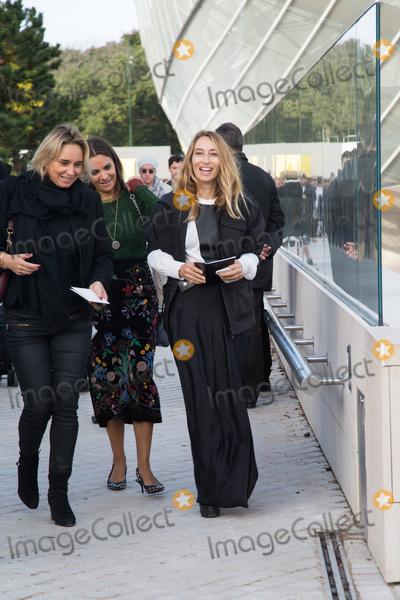 Alexandra Golovanoff, Front Row Photo - Alexandra Golovanoff attend Louis Vuitton Show Front Row - Paris Fashion Week  2016.October 7, 2015 Paris, FrancePicture: Kristina Afanasyeva / Featureflash