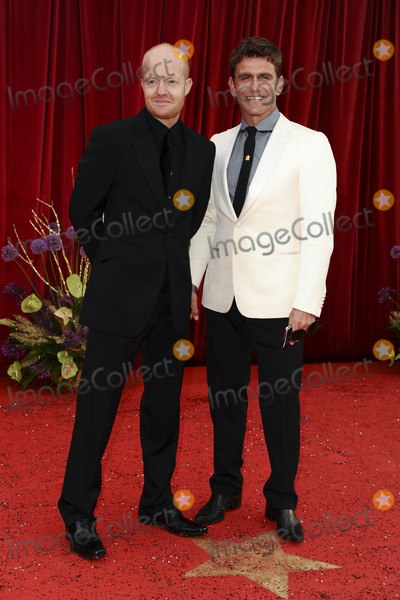 Jake Wood, Scott Maslen, Jake Woods Photo - Jake Wood and Scott Maslen arrive at the British Soap awards 2011 held at the Granada Studios, Manchester.