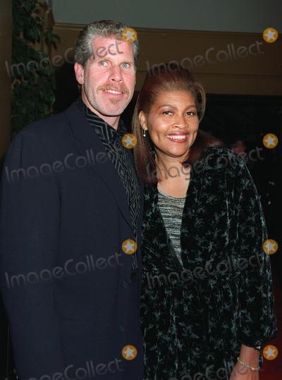 "Ron Perlman Photo - 20NOV97:  Actor RON PERLMAN & wife at premiere of his new movie, ""Alien Resurrection,"" in Los Angeles."