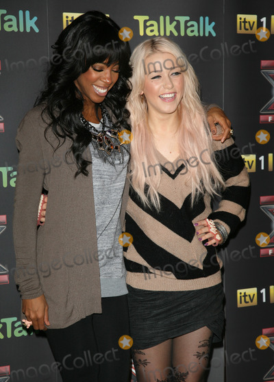 Kelly Rowland, Amelia Lily, Kelly Rowlands Photo - Kelly Rowland and Amelia Lily attending an X Factor Finalists Photocall, at Wembley Arena, London. 08/12/2011 Picture by: Alexandra Glen / Featureflash