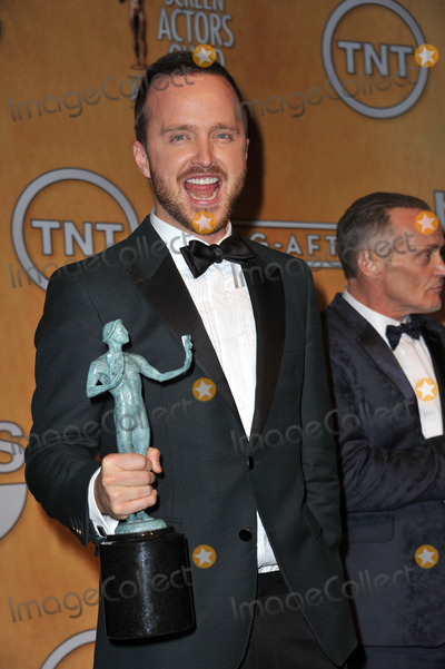 Aaron Paul Photo - Aaron Paul at the 20th Annual Screen Actors Guild Awards at the Shrine Auditorium.