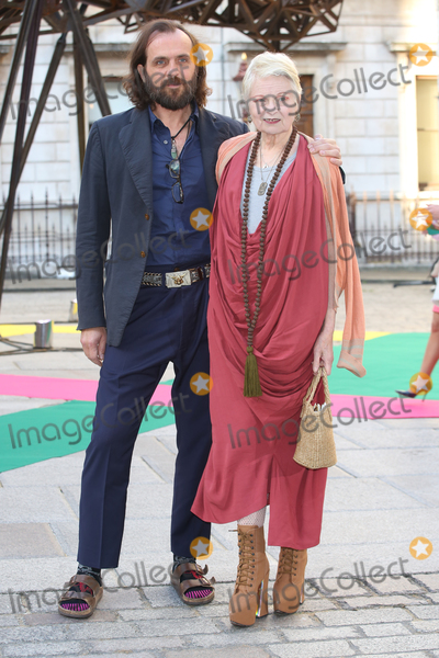 Andreas Kronthaler, Vivienne Westwood, James Smith Photo - Andreas Kronthaler & Vivienne Westwood  at the Royal Academy of Arts Summer Exhibition 2015 at the Royal Academy, London. 