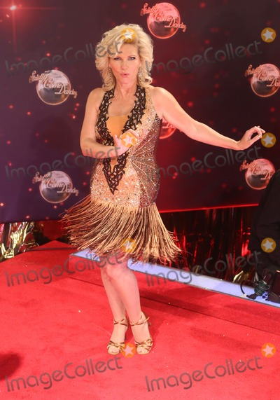 Fiona Fullerton Photo - Fiona Fullerton arriving for Strictly Come Dancing red carpet launch event held at Elstree studios, London. 03/09/2013 Picture by: Henry Harris / Featureflash