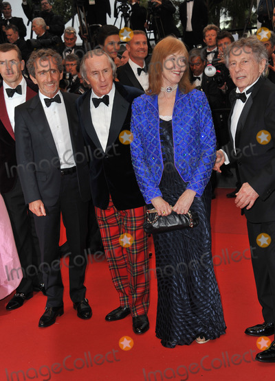 """Alain Prost, Helen Stewart, Jackie Stewart, Roman Polanski Photo - Alain Prost, Jackie Stewart & wife Helen Stewart & Roman Polanski at gala premiere for """"All Is Lost"""" at the 66th Festival de Cannes.May 22, 2013  Cannes, FrancePicture: Paul Smith / Featureflash"""