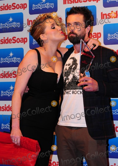 Bronagh Waugh, Emmett Scanlan Photo - Bronagh Waugh and Emmett Scanlan arriving for the Inside Soap Awards 2011 at Gilgamesh, Camden, London. 26/09/2011 Picture by: Simon Burchell /  Featureflash