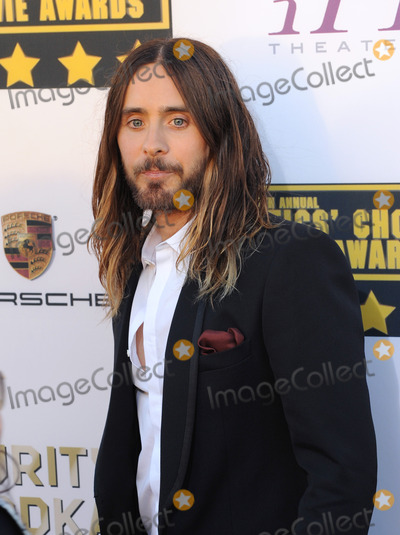 Jared Leto Photo - Jared Leto at the 19th Annual Critics' Choice Awards at The Barker Hangar, Santa Monica Airport.