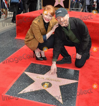 Bryce Dallas, Bryce Dallas Howard, Ron Howard Photo - Director Ron Howard & daughter actress Bryce Dallas Howard on Hollywood Boulevard where he was honored with the 2,568th star on the Hollywood Walk of Fame. It is his second star, his first was awarded for his TV work in 1981.December 10, 2015  Los Angeles, CAPicture: Paul Smith / Featureflash