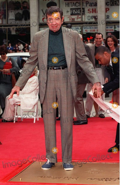 Walter Matthau Photo - 02APR98: Actor WALTER MATTHAU at the Mann's Chinese Theatre, Hollywood, where he became the 213th person to leave his hand & footprints in cement.