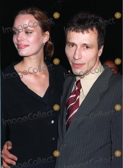 "Michael Wincott, Michael Bublé, Michael Paré Photo - 20NOV97:  Actor MICHAEL WINCOTT & wife VERA at premiere of his new movie, ""Alien Resurrection,"" in Los Angeles."