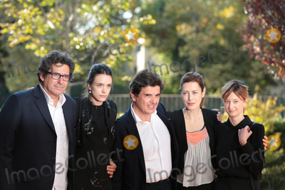 Taj Mahal, Stacy Martin, Alba Rohrwacher, Nicolas Saada Photo - Producer Patrick Sobelman, director Nicolas Saada & actresses Stacy Martin, Alba Rohrwacher & Gina McKee at the premiere of Taj Mahal at the 2015 Venice Film Festival.