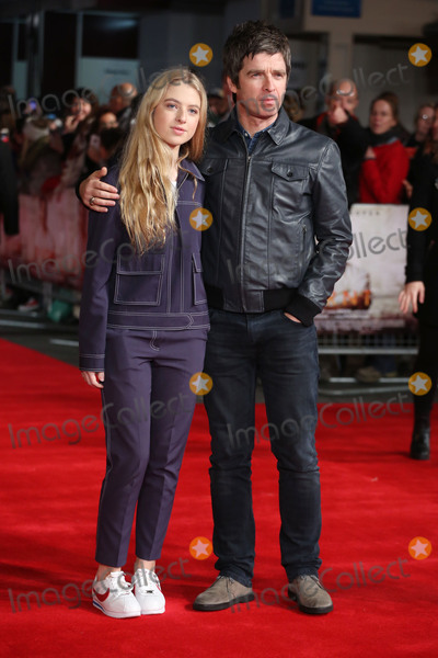"""Gallagher, Noel Gallagher, Anais Gallagher, James Smith Photo - Noel Gallagher & daughter Anais Gallagher at the European premiere of """"Burnt""""  at the Vue West End. October 28, 2015  London, UKPicture: James Smith / Featureflash"""