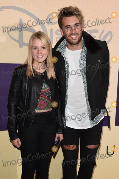 """Andy Samuels Photo - Andy Samuels and sister arrives for the """"The Million Dollar Arm"""" Gala screening at the Mayfair Hotel, London. 21/08/2014 Picture by: Steve Vas / Featureflash"""