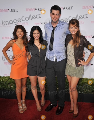 Janelle Ortiz, Nicholas Braun, Yin Chang, Michael Kors, Aimee Teagarden, Anouk Aimé Photo - Prom stars Yin Chang (left), Janelle Ortiz, Nicholas Braun & Aimee Teagarden at the 8th Annual Teen Vogue Young Hollywood Party in partnership with Michael Kors at Paramount Studios, Hollywood.October 1, 2010  Los Angeles, CAPicture: Paul Smith / Featureflash