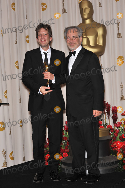 Christian Colson, Steven Spielberg Photo - Christian Colson & Steven Spielberg at the 81st Academy Awards at the Kodak Theatre, Hollywood.