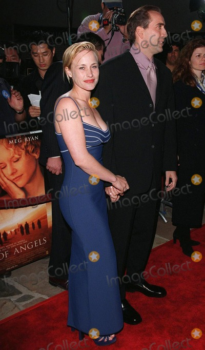 "Meg Ryan, Nicolas Cage, Patricia Arquette, Nicolas Cazalé Photo - 08APR98:  Actor NICOLAS CAGE & actress wife PATRICIA ARQUETTE at the world premiere of his new movie, ""City of Angels,"" in which he stars with Meg Ryan."