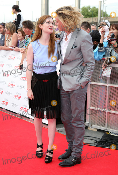 Bonnie Wright, Jamie Campbell, Jamie Campbell Bower, Jamie Campbell-Bower, The National, Jamie Salé Photo - Bonnie Wright and Jamie Campbell-Bower arriving for the National Movie Awards 2011, at Wembley Arena, London. 11/05/2011  Picture By: Alexandra Glen / Featureflash