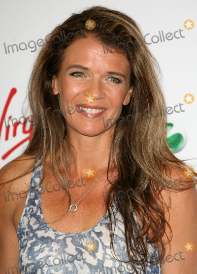 Annabel Croft, Annabelle Croft Photo - Annabel Croft arriving for the Pre Wimbledon Party, Kensington Roof Gardens, London. 16/07/2011  Picture by: Alexandra Glen / Featureflash