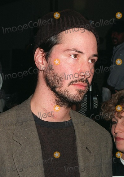 """Keanu Reeves Photo - 13OCT97: Actor KEANU REEVES at the world premiere of his new movie, """"Devil's Advocate"""" in Los Angeles."""
