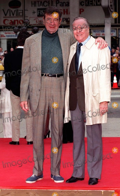 Jack Lemmon, Walter Matthau, Jackée Photo - 02APR98: Actors WALTER MATTHAU (left) & JACK LEMMON at the Mann's Chinese Theatre, Hollywood, where Matthau became the 213th person to leave his hand & footprints in cement.