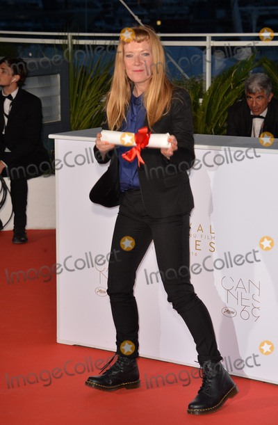 Andrea Arnold, The Jury Photo - Director Andrea Arnold, winner of The Jury Prize for the film 'American Honey', at the winners' photocall at the 69th Festival de Cannes.May 22, 2016  Cannes, FrancePicture: Paul Smith / Featureflash