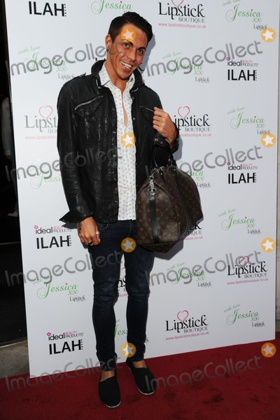 Bobby Norris, Jessica Wright Photo - Bobby Norris arrives for the Lipstick Boutique & Jessica Wright clothing launch, Sanctum Soho Hotel, London. 21/08/2012 Picture by: Steve Vas / Featureflash